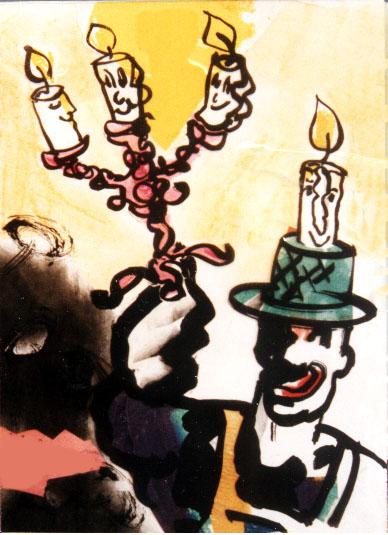 camilla-marstrand-illustration-candlesticks-a-little-more-light