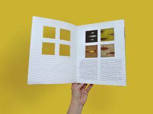 Brochure Royal Baltic p2-3 design by Camilla Golden